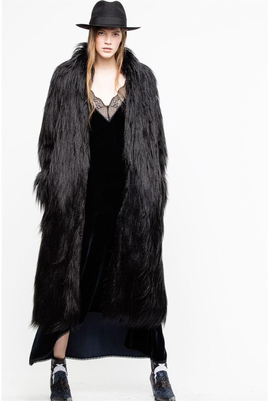 쟈딕앤볼테르 Zadig & Voltaire Frida Coat,BLACK