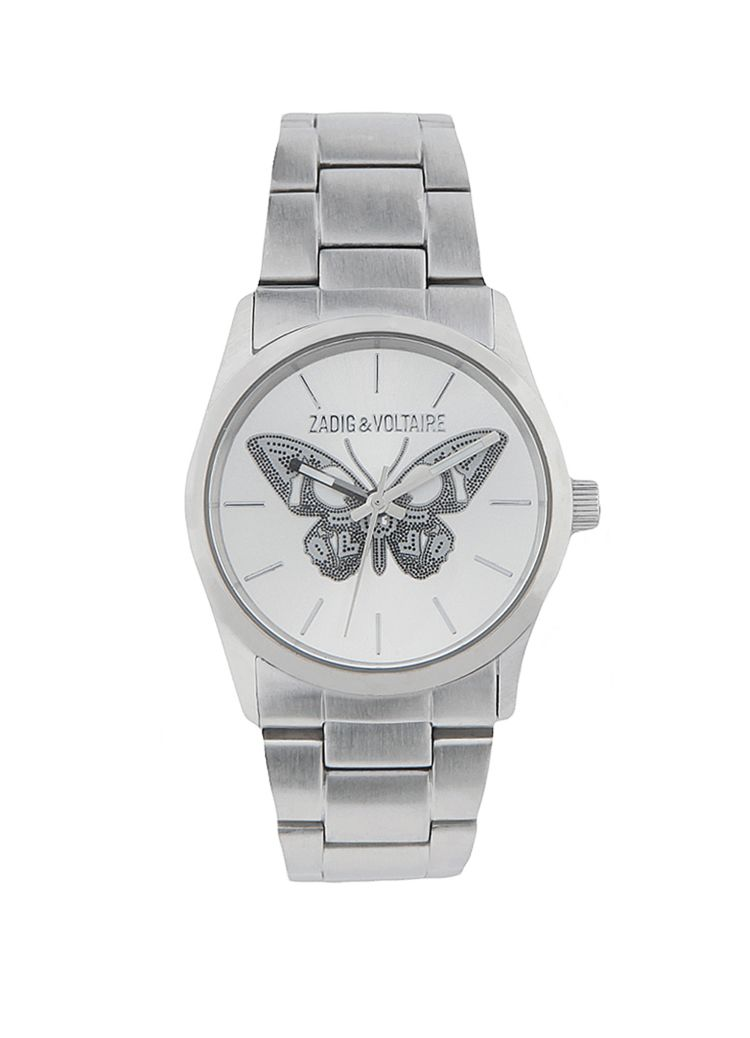 WATCH BUTTERFLY STEEL 33 ZV030.